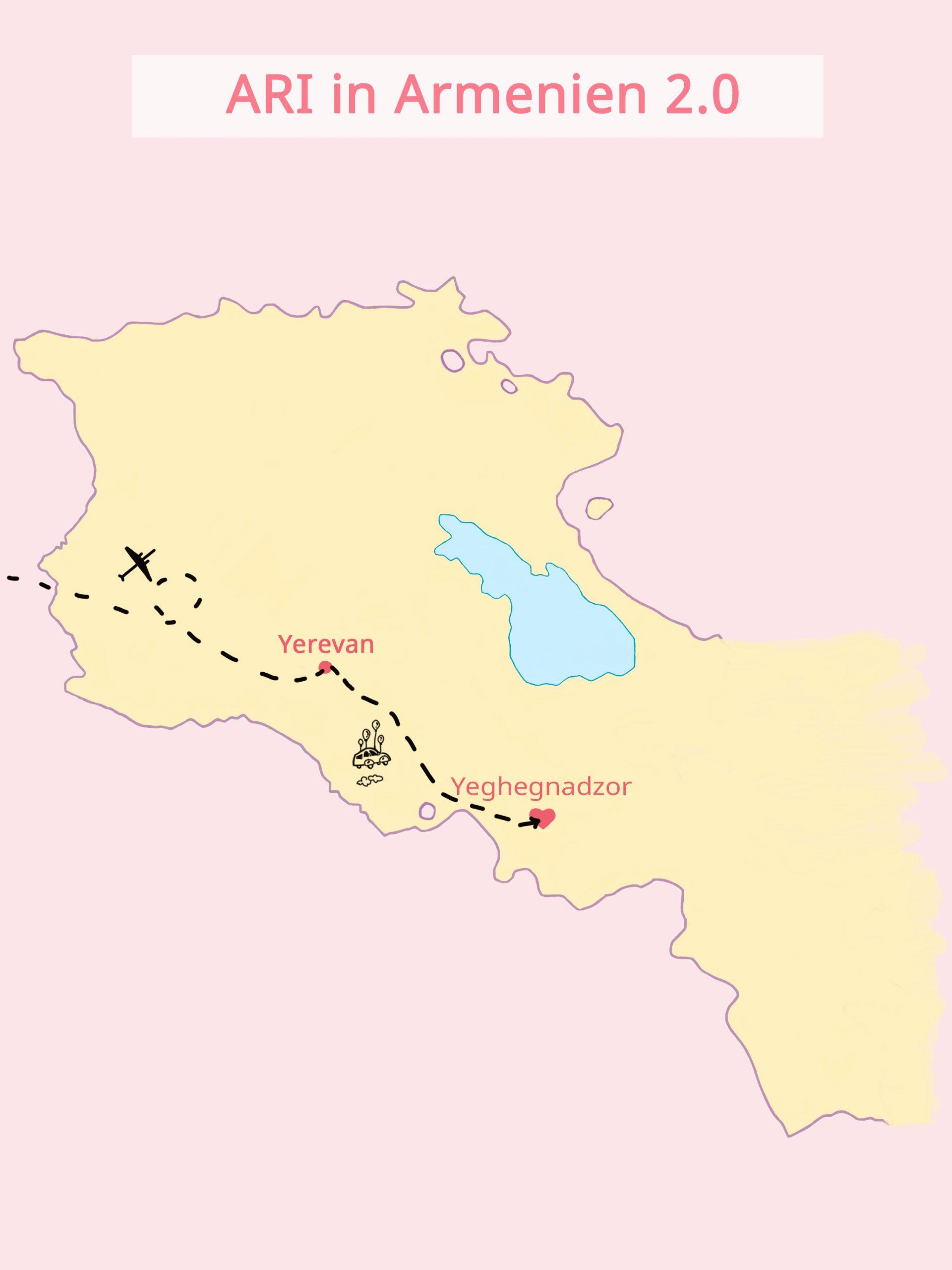 ARI - Kinder- und Jugendcamp in Armenien Karte