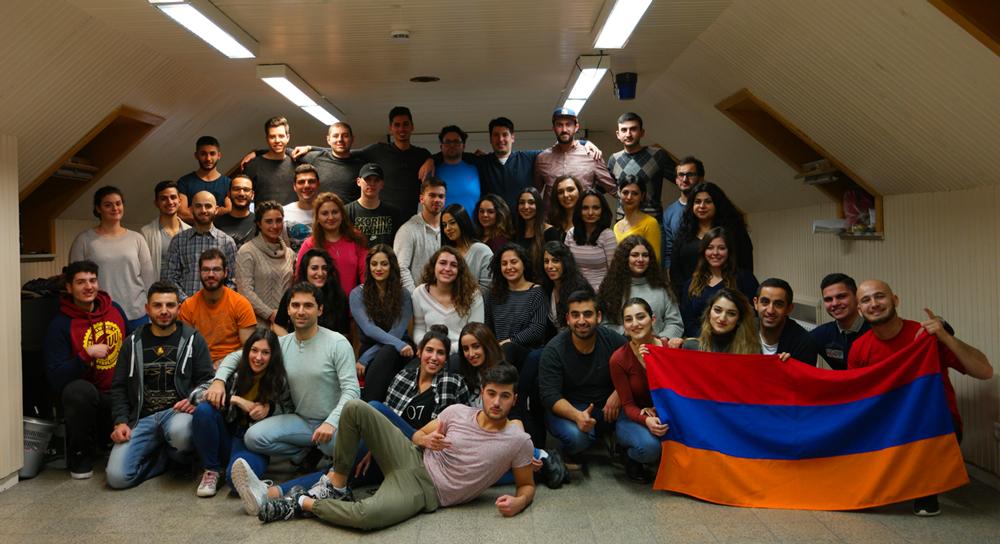 Abschlussbericht Armenischer Winter Jugendtreff 2016, Gruppenbild
